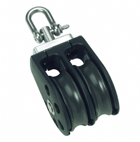 Barton 30mm (Size 1)  Double Swivel Block